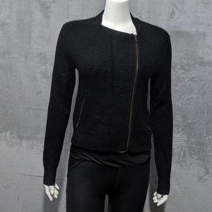 Banana Republic black Italian yarn jacket